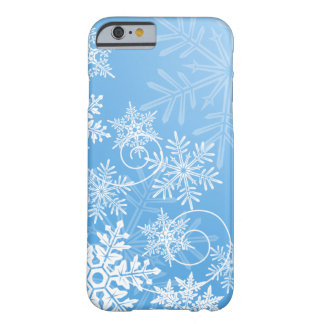 Snowflakes iPhone case Barely There iPhone 6 Case