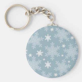 Snowflakes Key Chain