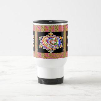 SNOWFLAKES Kids Art Coffee Mug