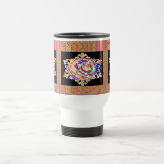 SNOWFLAKES Kids Art Stainless Steel Travel Mug