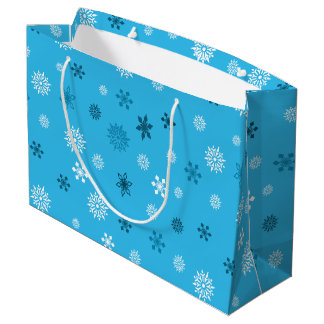 Snowflakes Large Gift Bag