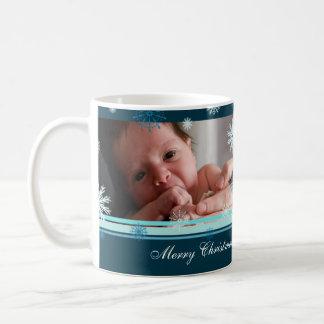 Snowflakes Merry Christmas Grandma Mug