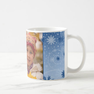 Snowflakes Merry Christmas Mom Mug