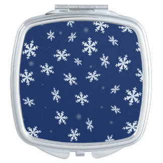 Snowflakes Mirrors For Makeup