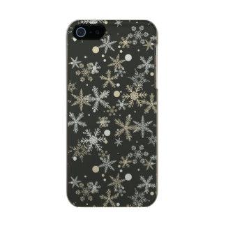 Snowflakes on Dark Background Incipio Feather® Shine iPhone 5 Case