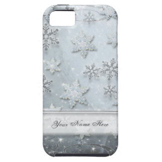 Snowflakes on Ice Tough iPhone 5 Case
