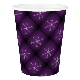Snowflakes Paper Cup