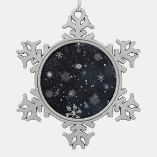 Snowflakes pattern illustration ornament