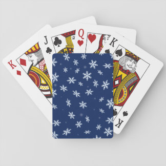 Snowflakes Playing Cards