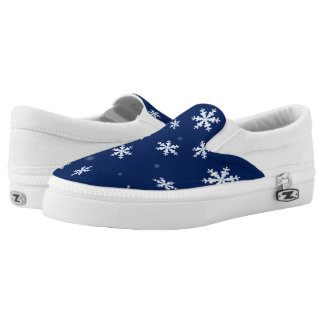 Snowflakes Slip On Shoes