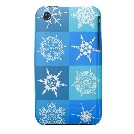 Snowflakes. So Unique. iPhone 3 Case-Mate Cases