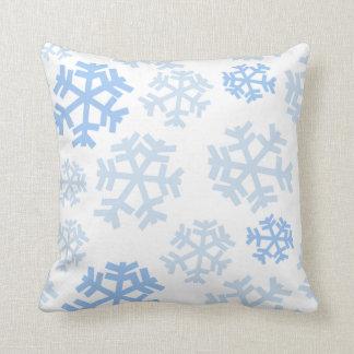 Snowflakes Throw Cushions