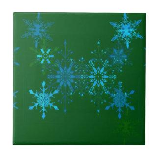 Snowflakes Tile