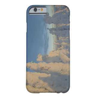 Snowghosts at sunset at Whitefish Mountain 2 Barely There iPhone 6 Case