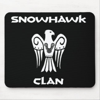 Snowhawk Clan mousepad! Mouse Pad