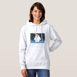 Snowie the abominable snowman hoodie