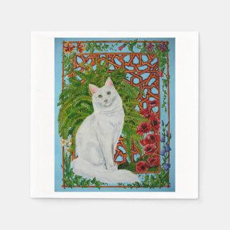 Snowi's Garden Paper Napkin
