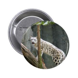 SnowLeopardM007 6 Cm Round Badge