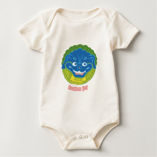 Snowlion Fearless Joy Organic Onesy Baby Bodysuit
