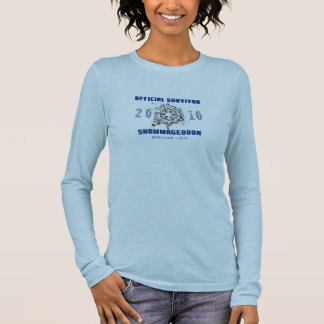 Snowmageddon Maryland 2010 Long Sleeve T-Shirt