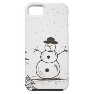 snowman2 iPhone 5 cover