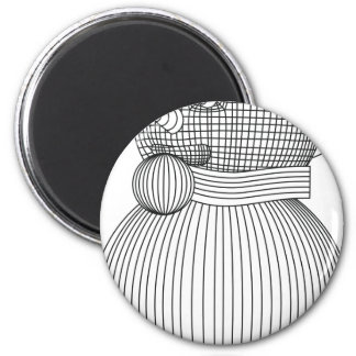 snowman-2 magnet