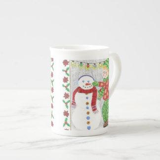 Snowman 2 specialty mug