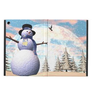 Snowman - 3D render iPad Air Cover