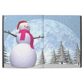 "Snowman - 3D render iPad Pro 12.9"" Case"