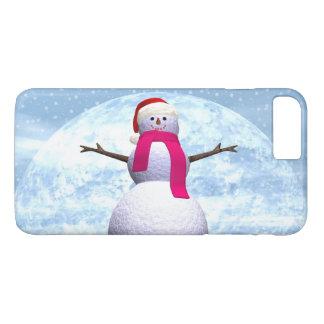Snowman - 3D render iPhone 8 Plus/7 Plus Case
