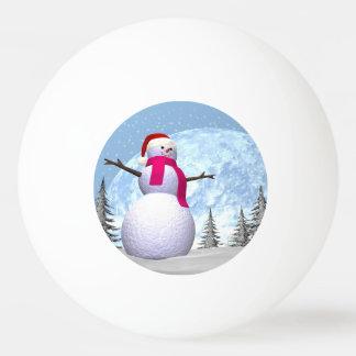 Snowman - 3D render Ping Pong Ball