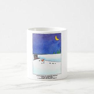Snowman Adrift Mug
