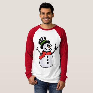 Snowman all the way! T-Shirt