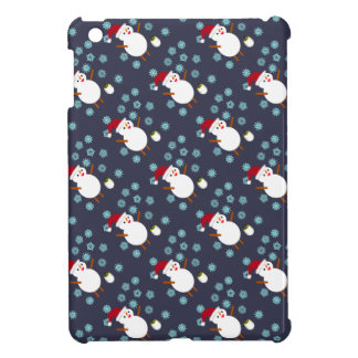 Snowman and Penguin Case For The iPad Mini
