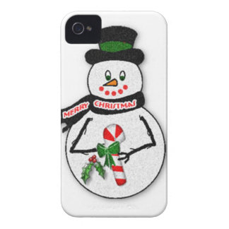 Snowman BlackBerry Bold Case-Mate Barely There™ iPhone 4 Case