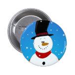 Snowman - Blue Pins