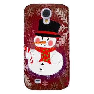 Snowman & Candycane Galaxy S4 Cover