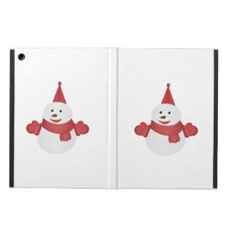 Snowman cartoon cover for iPad air