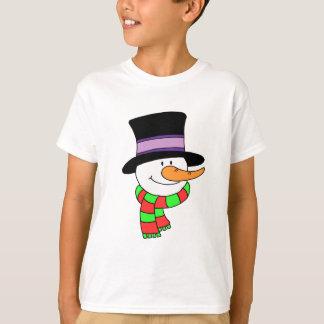 Snowman Cartoon T-Shirt