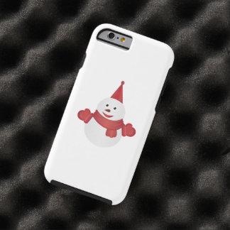 Snowman cartoon tough iPhone 6 case