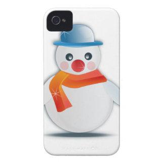 Snowman Case-Mate iPhone 4 Cases