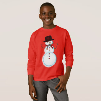 Snowman Christmas T-Shirt