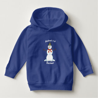 Snowman Christmas Toddler Hoodie