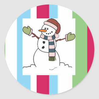 Snowman Collection Stickers