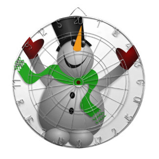 Snowman Dartboard