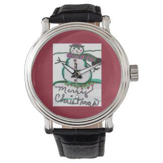 Snowman Design Watch