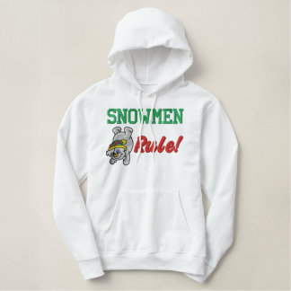 Snowman Embroidered Shirt