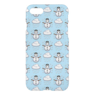 Snowman Emoji iPhone 8/7 Clearly™ Case