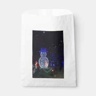 Snowman Favour Bag