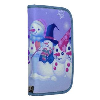 Snowman Friends Folio For Smartphone Organizers